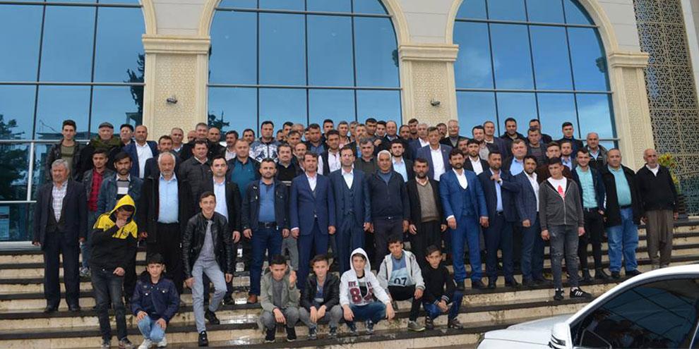Türkoğlu'nda vatandaşlardan Okumuş'a tebrik