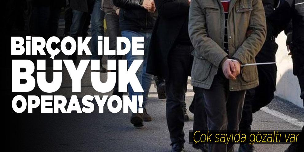 Adana merkezli FETÖ operasyonunda 21 kişi hakkında gözaltı kararı