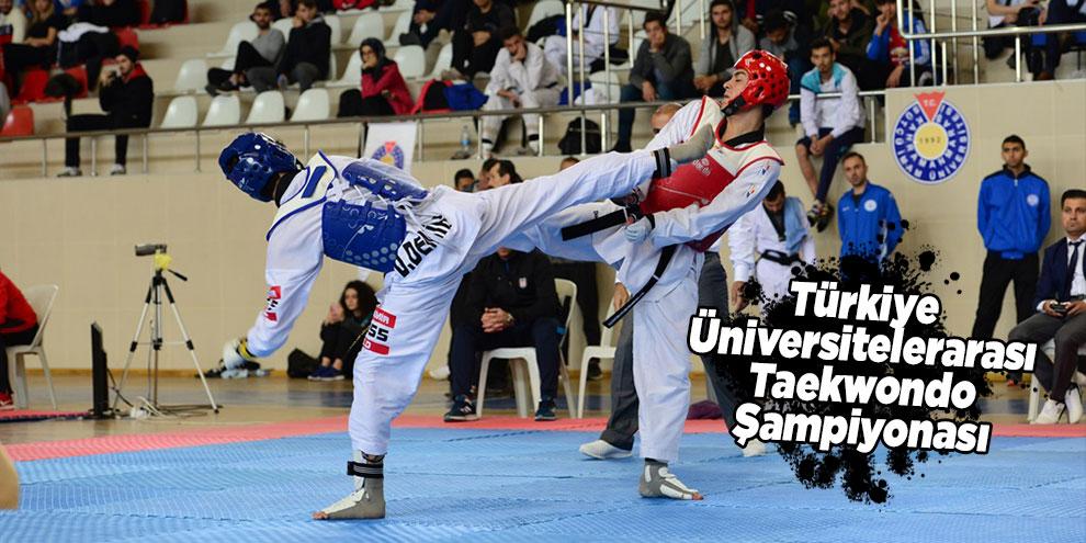Türkiye Üniversitelerarası Taekwondo Şampiyonası