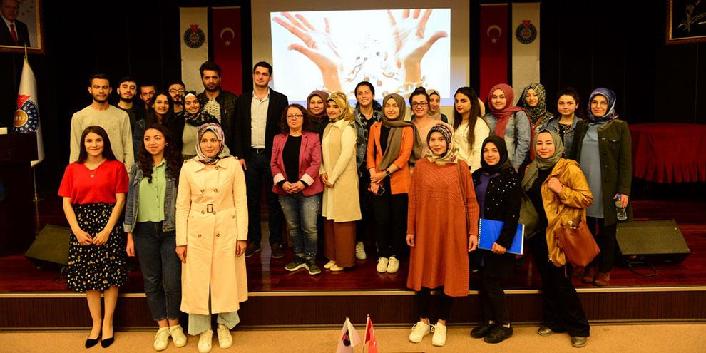 """KSÜ'de """"Teknoloji Tütün ve Madde Bağımlılığı"""" konferansı"""