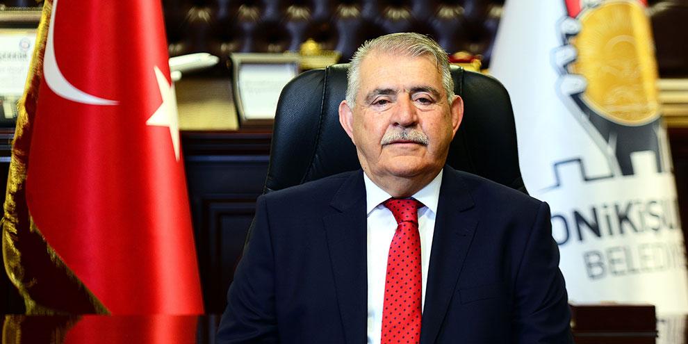 Onikişubat Belediye Başkanı Hanefi Mahçiçek'ten 23 Nisan mesajı