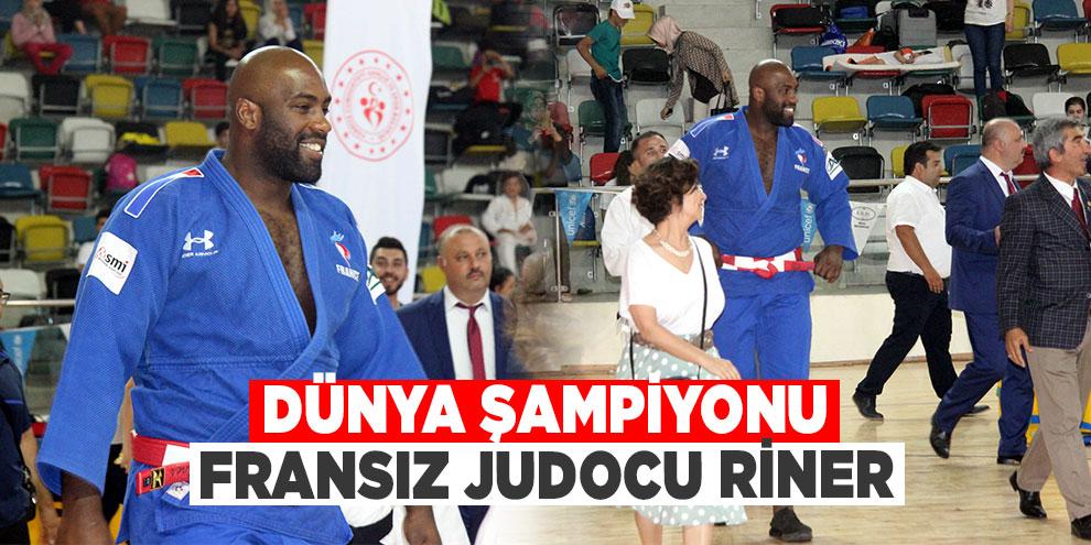 Dünya şampiyonu Fransız judocu Riner