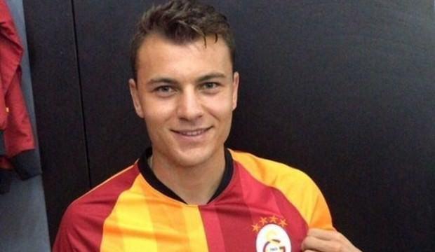 Galatasaray formasını giydi!