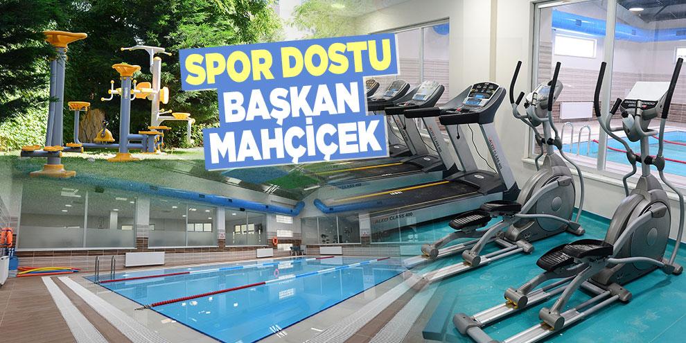 Spor dostu Başkan Mahçiçek