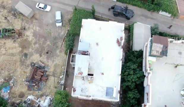 Drone'la operasyon yapıldı: 18 kişi gözaltında