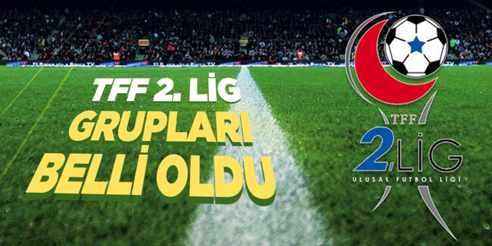 TFF 2. Lig grupları belli oldu