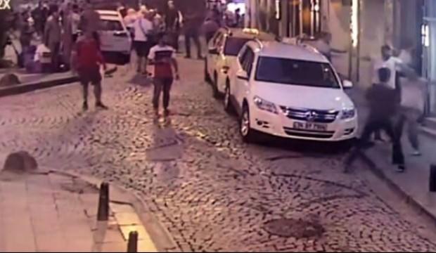 Magandalar şehrin göbeğinde esnafa saldırdı
