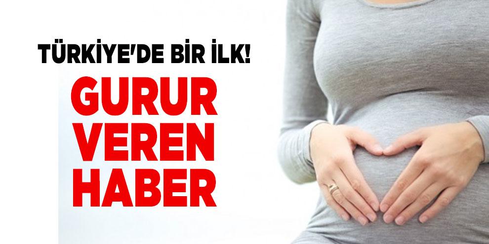 Türkiye'de bir ilk! Dondurulmuş yumurtalık dokusundan gebelik