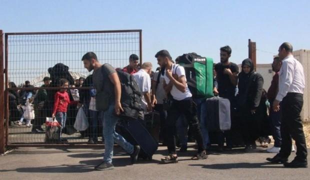 Suriyelilerin kurban bayramı geçişi başladı