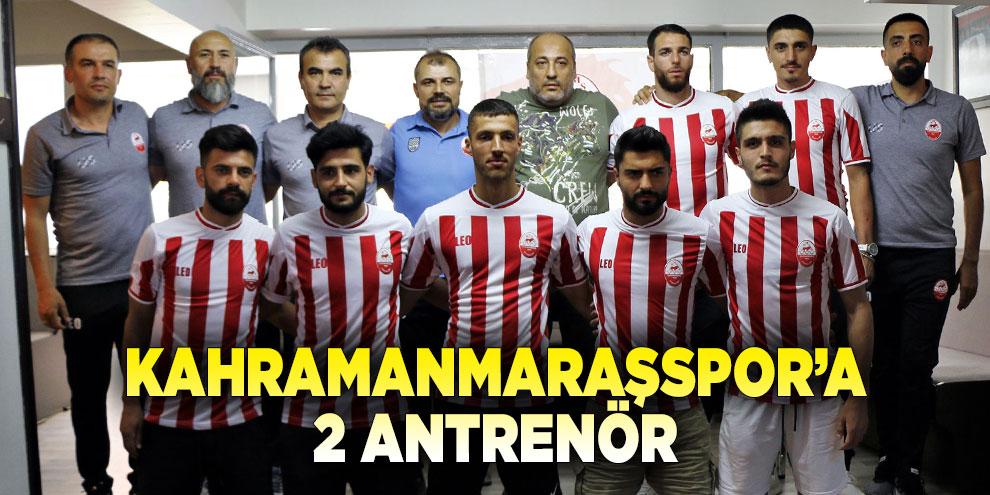 Kahramanmaraşspor'a 2 Antrenör