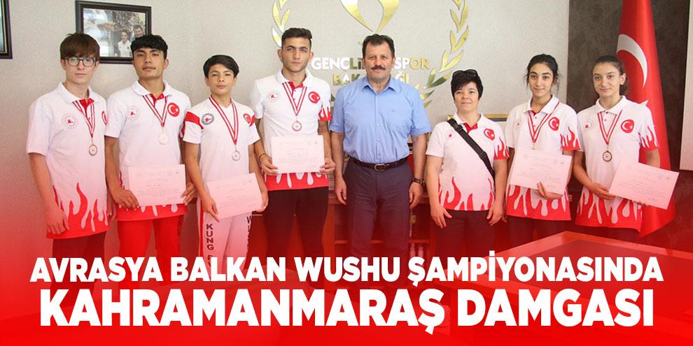 Avrasya Balkan Wushu şampiyonasında Kahramanmaraş damgası