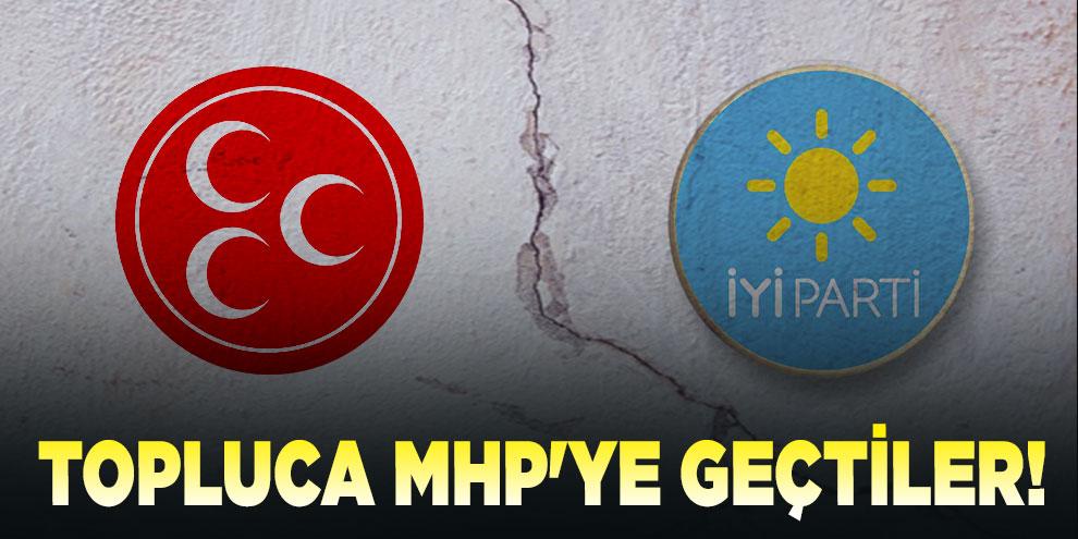 İYİ Parti'den topluca MHP'ye geçtiler!
