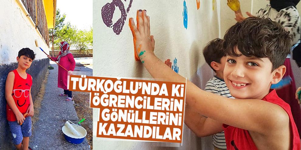 Türkoğlu'nda ki öğrencilerin gönüllerini kazandılar