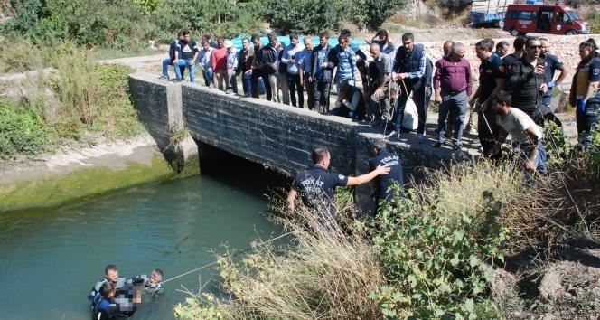 Sulama kanalına düşen işçinin cansız bedenine ulaşıldı