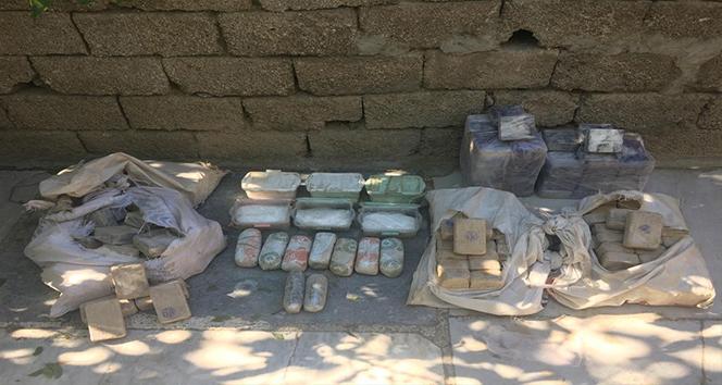 Van'da 100 kiloya yakın uyuşturucu ele geçirildi