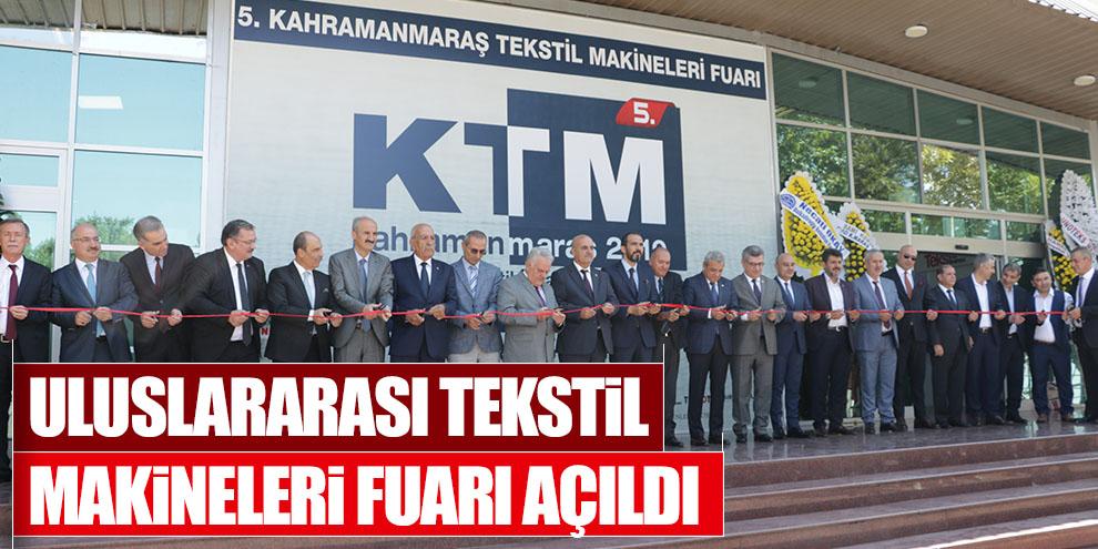 Uluslararası Tekstil Makineleri Fuarı açıldı