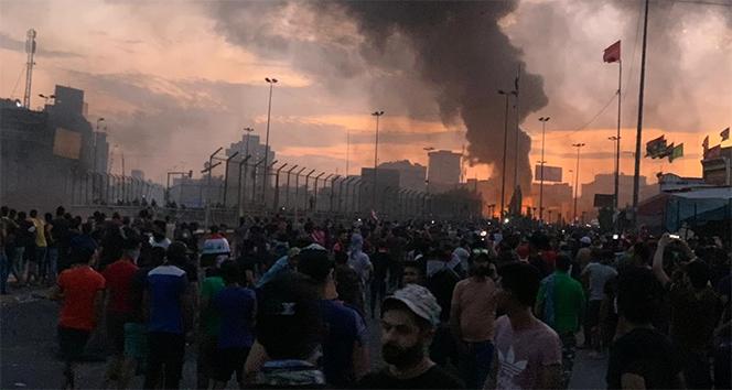 Irak'ta hükümet karşıtı protestolarda ölü sayısı 50'ye yükseldi