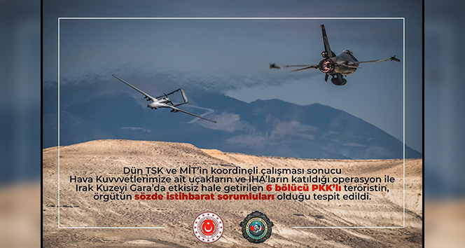 PKK'nın sözde istihbarat sorumluları etkisiz hale getirildi