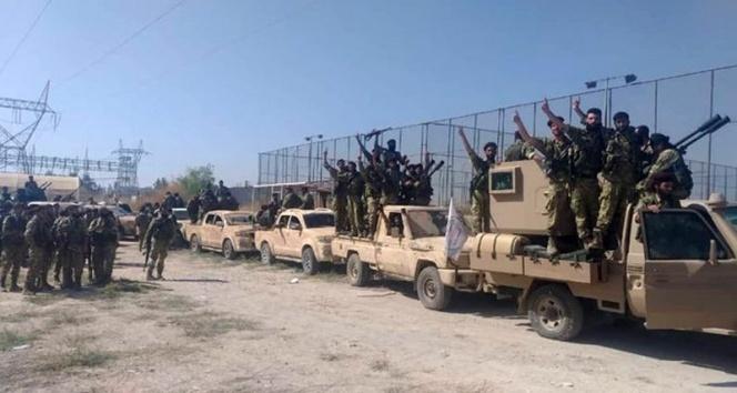 Suriye Milli Ordusu Tel Abyad sınırına doğru ilerliyor