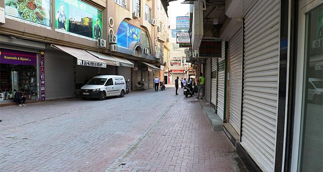 Nusaybin'de sokaklar sessizliğe büründü