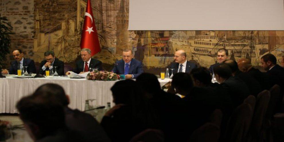 Erdoğan'ndan Akıncı'ya tarihi uyarı! Çarpıcı sözler