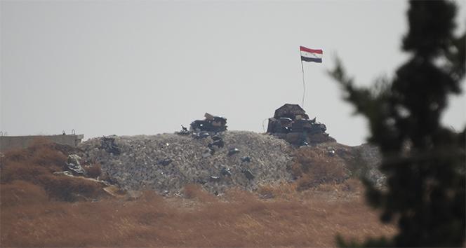 Terör örgütünden bayrak oyunu