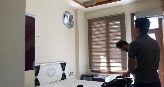 Ceylanpınar'da gazetecilerin ve doktorların kaldığı otele havan topu düştü