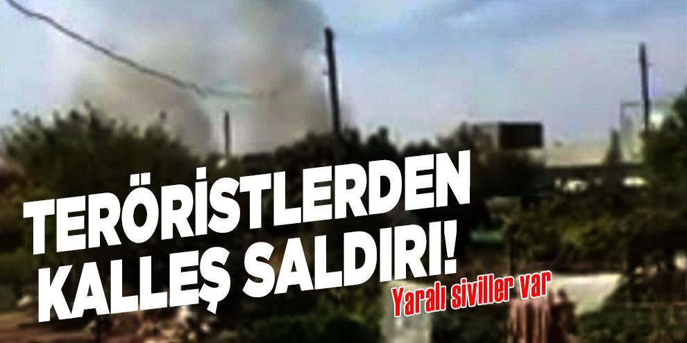 Teröristlerden kalleş saldırı! Yaralı siviller var