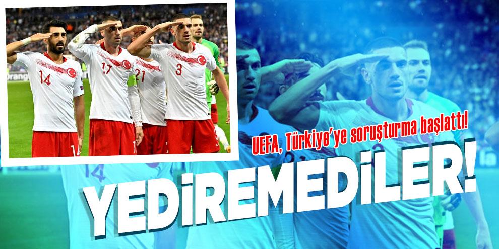 UEFA, Türkiye'ye soruşturma başlattı!