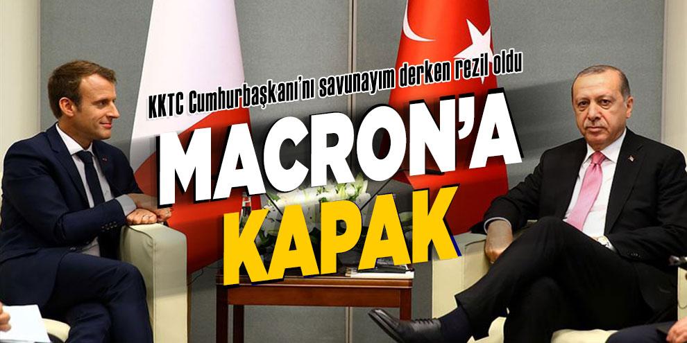 Erdoğan'dan Macron'a efsane kapak!