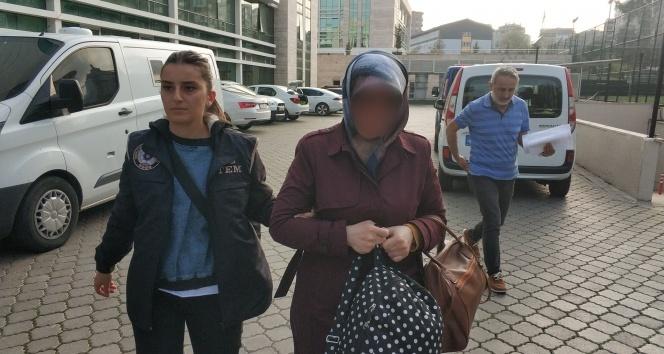 FETÖ'den aranan kadın örgüt evinde yakalandı