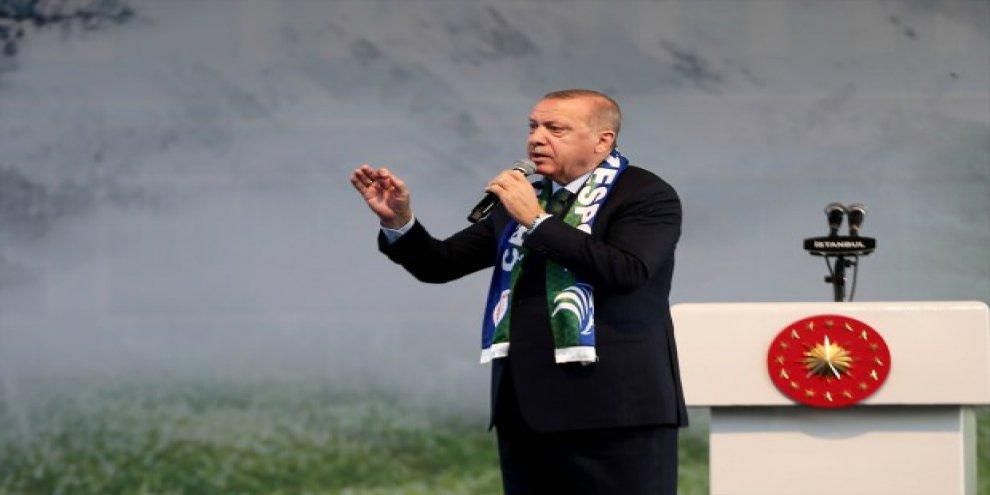 Erdoğan açıkladı: Türkiye'de üretmek istediler, izin vermedim