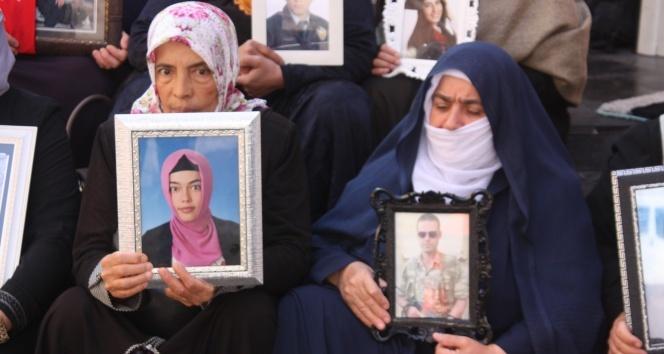 HDP önündeki ailelerin evlat nöbeti 50'nci gününde