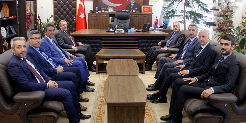 KSÜ Yönetim Kurulu Göksun'da toplandı