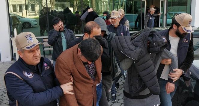 Samsun'da DEAŞ operasyonu: 12 gözaltı!