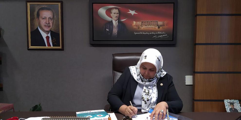 Milletvekili Öçal'dan 29 Ekim Cumhuriyet Bayramı mesajı