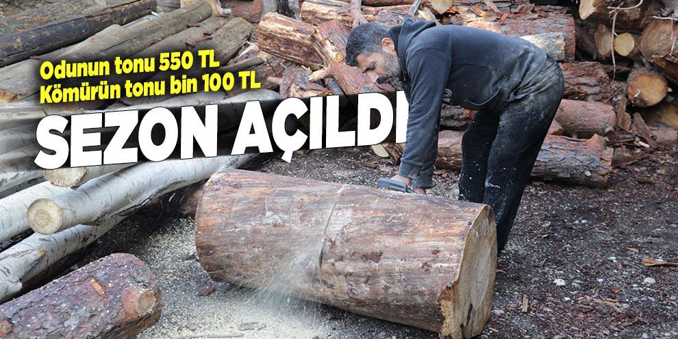 Odun-kömür sezonu açıldı