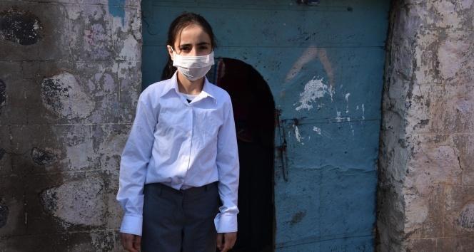 12 yaşındaki Birgül kanseri yenerse polis olacak! Yetkililerden yardım istedi