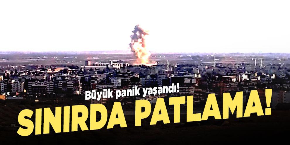 Türkiye - Suriye sınırında patlama!