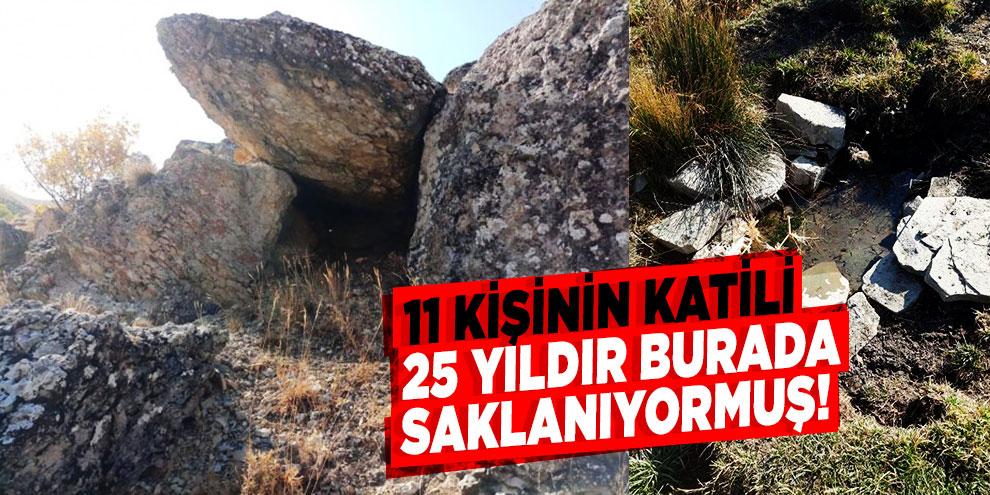 11 kişinin katili 25 yıldır kaldığı sığınakta yakalandı!
