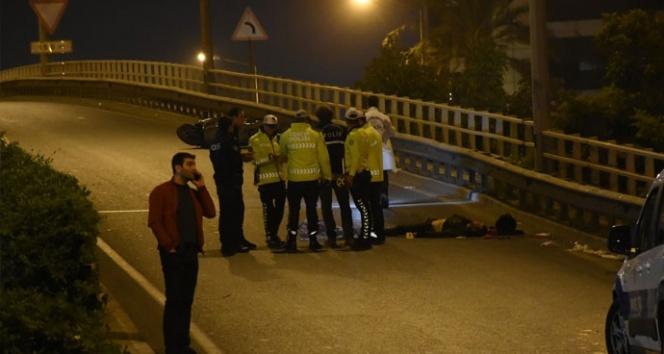 İzmir'de feci motosiklet kazası: 1 ölü