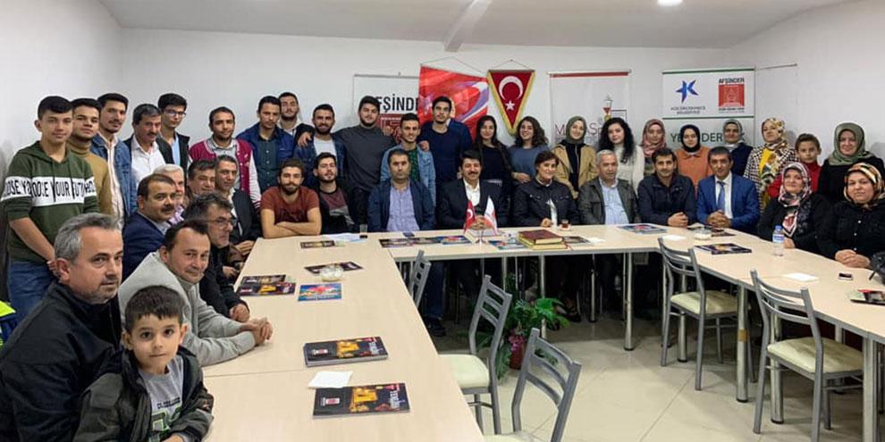 İstanbul da okuyan Afşinli öğrenciler dernekte buluştu