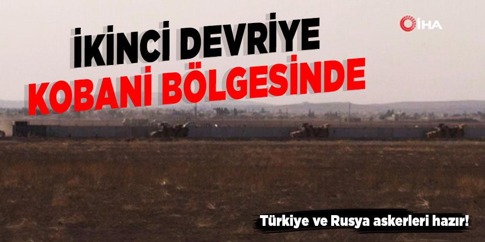 Rusya ile ikinci ortak devriye Kobani bölgesinde olacak