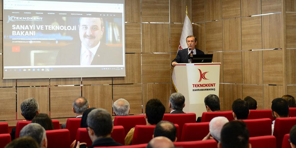 Kamu Üniversite Sanayi İş Birliği buluşması KSÜ'de gerçekleşti