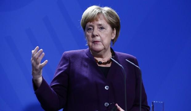 Merkel'in Barış Pınarı sorusuna şaşırtan cevap