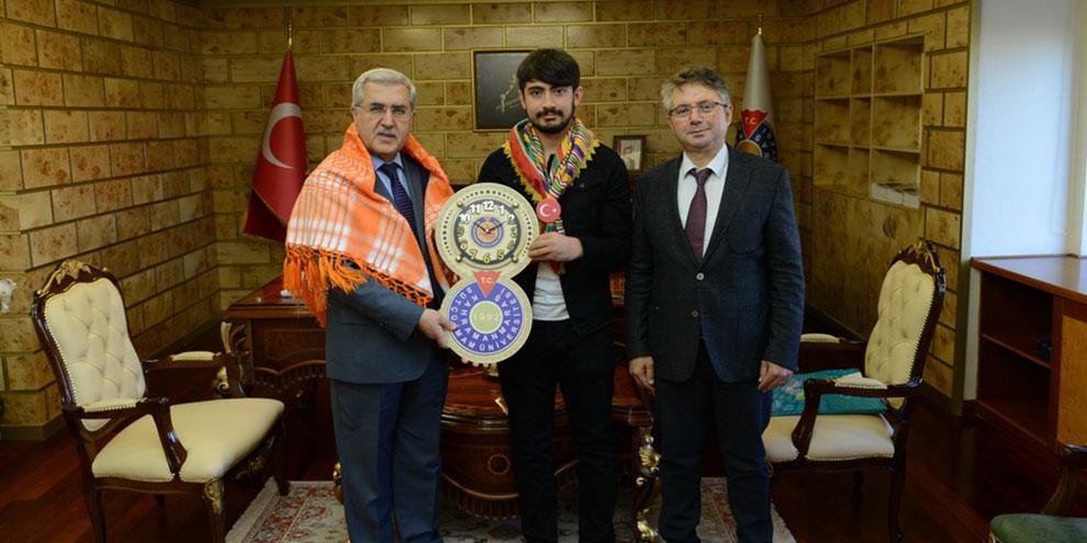 KSÜ, Türkiye'nin En Genç Yörük Türkmen Beyi'ni ağırladı