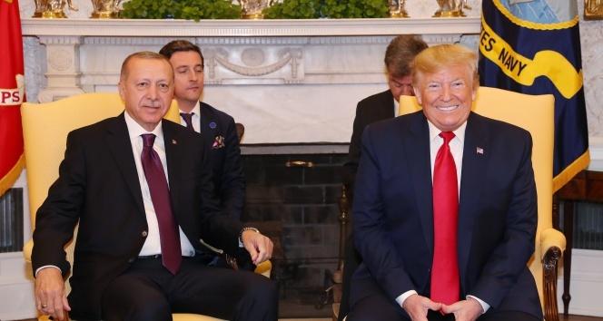 Cumhurbaşkanı Erdoğan ve Trump'tan ortak açıklama!