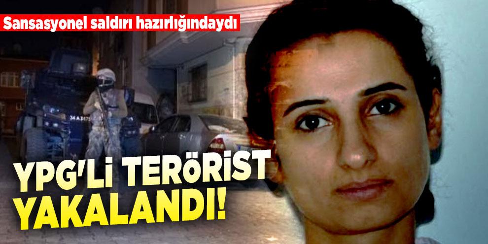 Sansasyonel saldırı hazırlığındaydı: YPG'li terörist yakalandı!