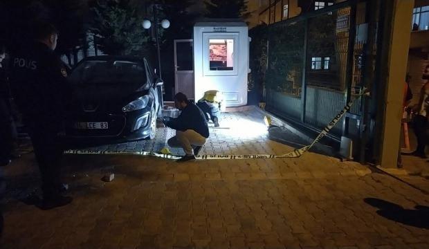 Kadın site sakini otopark kavgasında komşusunu vurdu