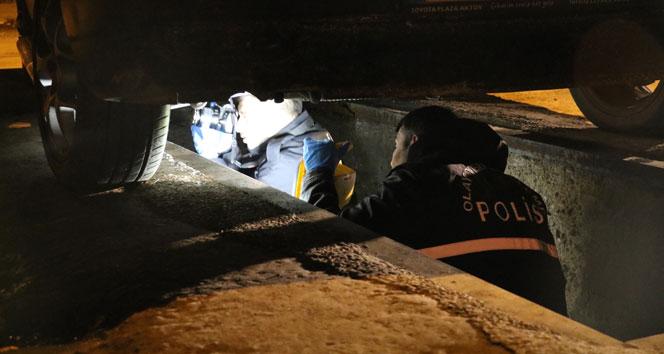 'Balkondan düştü' ihbarına giden polisler korkunç gerçekle karşılaştı